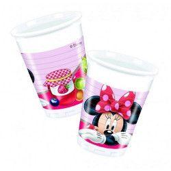 Gobelet plastique Minnie Jam x 8 Déco festive LMIN86581