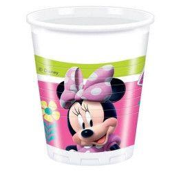 Gobelets anniversaire Minnie Happy Helpers™ x 8 Déco festive LMIN87862