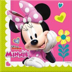 Déco festive, Serviettes anniversaire Minnie Happy Helpers x 20, LMIN87864, 3,50€