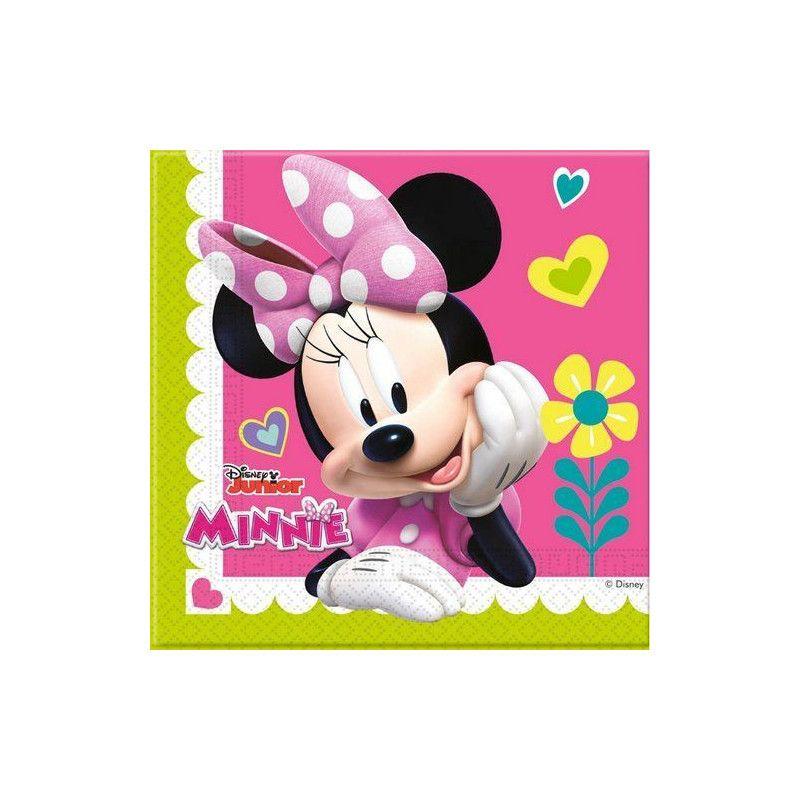 Serviettes anniversaire Minnie Happy Helpers x 20 Déco festive LMIN87864