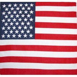 Bandana drapeau USA Accessoires de fête LP00129