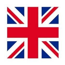 Accessoires de fête, Bandana drapeau Royaume Uni, LP00131, 2,50€