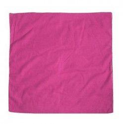 Bandana uni rose fuchsia Accessoires de fête LP00585