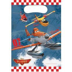 Sacs anniversaire Planes 2™ x 6 Déco festive LPLA84362