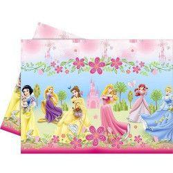 Nappe Princesse Summer Palace plastique Déco festive LPRI80458