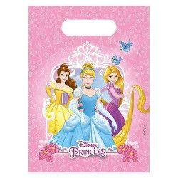 Sacs anniversaire Princess Heart Strong™ x 6 Déco festive LPRI87881