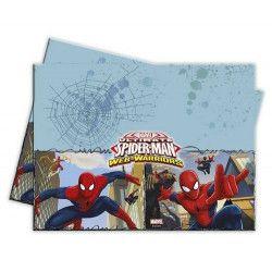 Nappe plastique Spiderman Web Warriors ™ 120x180cm Déco festive LSPI85155