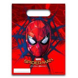 Sachets cadeaux Spiderman Homecoming™ x 6 Déco festive LSPI88062