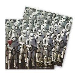 Serviettes papier x 20 Star Wars VII™ 33 x 33 cm Déco festive LSWA86215