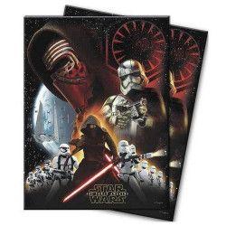 Déco festive, Nappe en plastique Star Wars VII™ 120x180 cm, LSWA86216, 4,90€