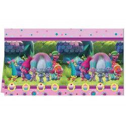 Nappe plastique anniversaire Trolls Déco festive LTRO87017