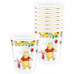 Gobelets Winnie l'Ourson Sweet Tweets x 8 Déco festive LWIN81548