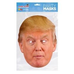 Masque carton Donald Accessoires de fête MDTRUMP01