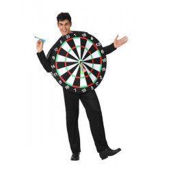 Déguisements, Déguisement jeu de fléchettes homme taille unique, MI005379, 19,90€