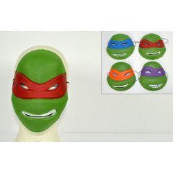 Accessoires de fête, Masque de tortue, MJ000401, 1,20€