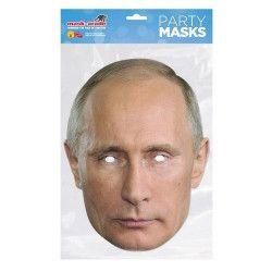 Masque carton Vladimir Poutine 2 Accessoires de fête MVPUTI02