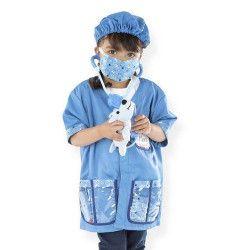 Kit jeu de rôle de vétérinaire enfant 3-6 ans Déguisements 14850