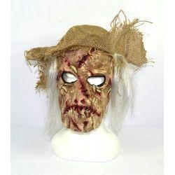 Masque de monstre avec cicatrices Accessoires de fête RO005644