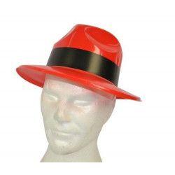 Accessoires de fête, Chapeau de gangster adulte, RO005687, 1,20€