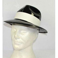Accessoires de fête, Chapeau de gangster adulte, RO005688, 1,20€