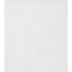 Serviettes jetables ouate gaufrées x 40 blanches 38 x 38 cm Déco festive SPU23838BL