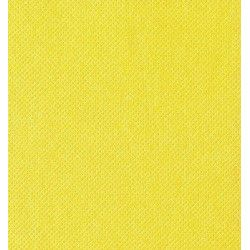 Serviettes jetables ouate gaufrées jaune vif 38x38 cm Déco festive SPU23838J