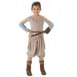 Déguisements, Déguisement luxe Rey Star Wars VII™ fille 5-6 ans, ST-620263M, 39,90€
