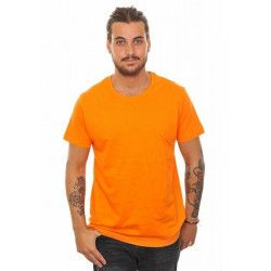 Déguisements, T-shirt basic orange homme taille L, T100ORANGE, 5,90 €