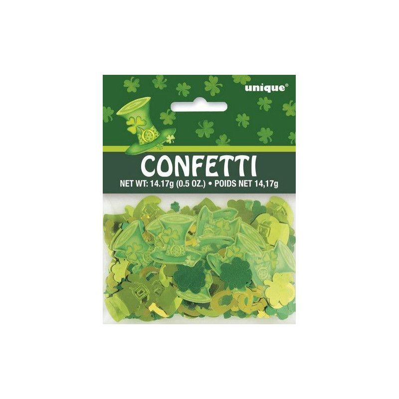 Déco festive, Confettis de table Saint Patrick, U47919, 2,00€