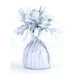 Poids pour ballon hélium blanc 180 g environ Déco festive U49372