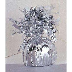 Poids pour ballon hélium argent 180 g environ Déco festive U4939