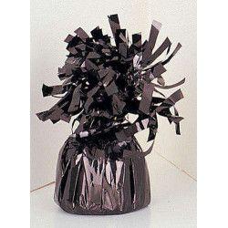 Poids pour ballon hélium noir 180 g environ Déco festive U4941