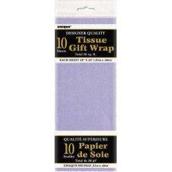 Papier de soie lavande Déco festive U6281
