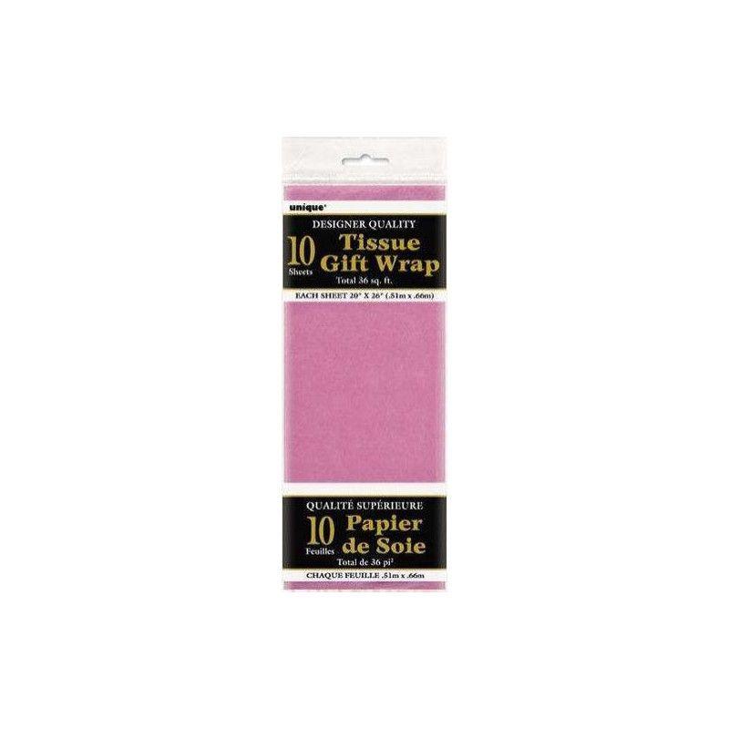 Papier de soie rose foncé Déco festive U6290