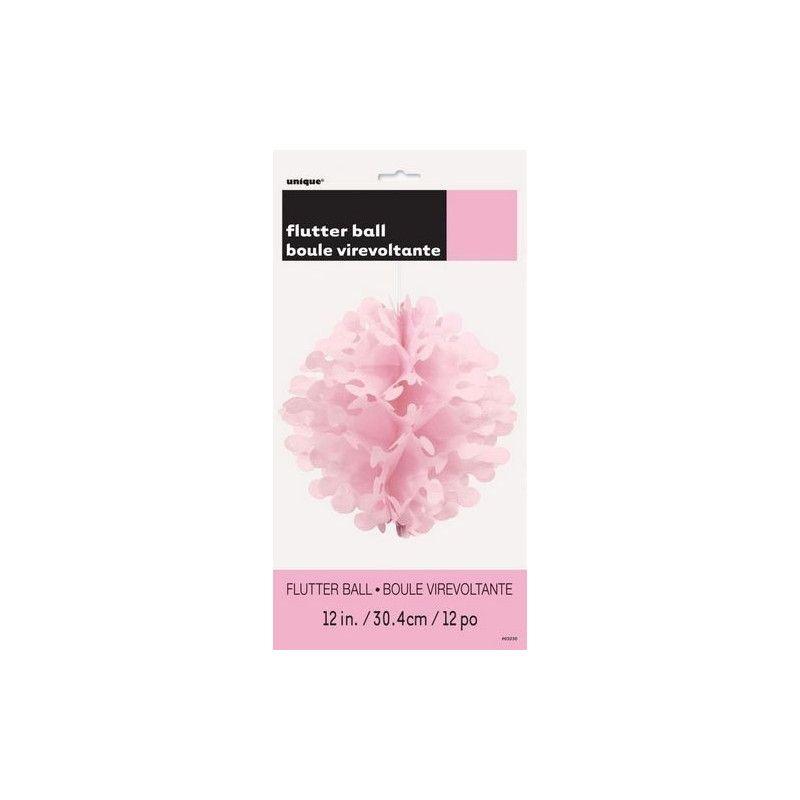 Boule virevoltante rose pastel Déco festive U63230