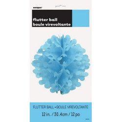 Boule virevoltante bleu ciel Déco festive U63231