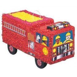Pinata camion de pompier Déco festive U6606