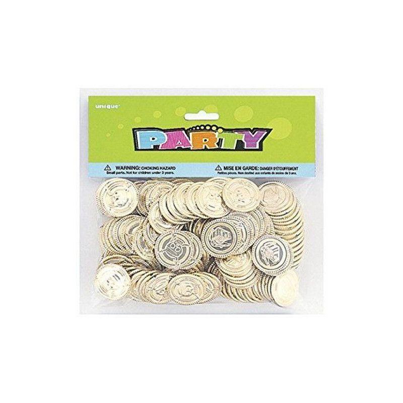 Lot 144 pièces dorées de trésor pirate Jouets et articles kermesse U84775