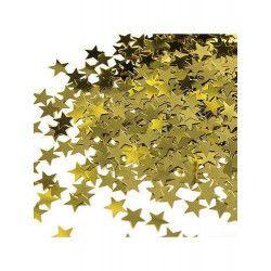 Déco festive, Confettis étoiles or métallisés, U90350, 2,50€
