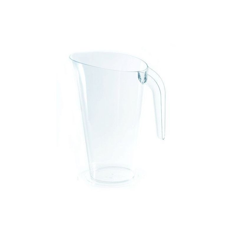 Carafe 1,5 l en plastique transparent Déco festive V50CRF