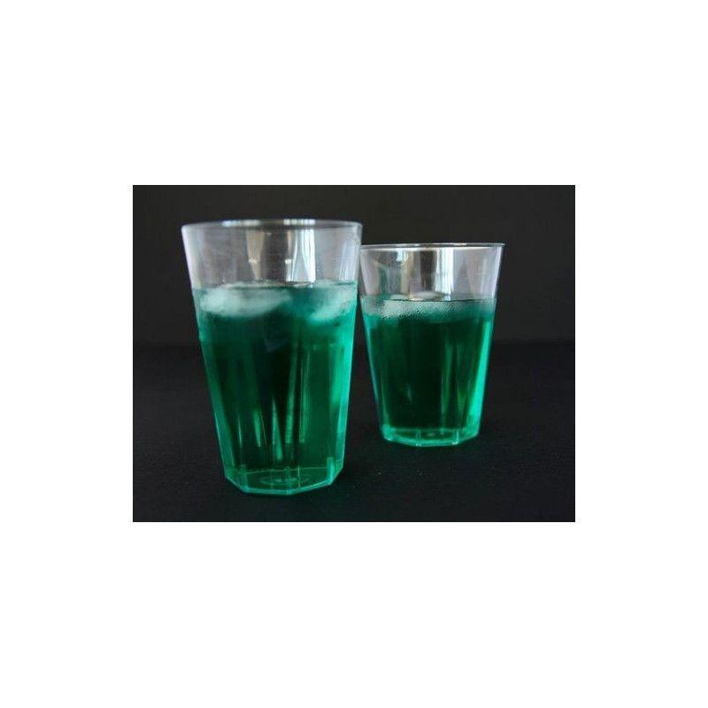 Verre cristal injecté transparent x 20 Déco festive V50OCTO250