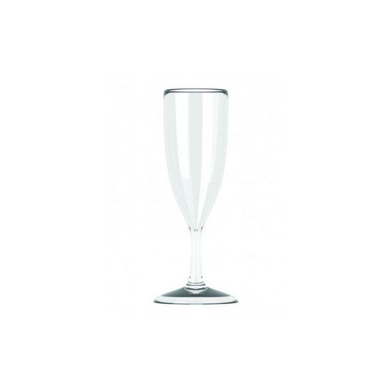 Flute à champagne en plastique incassable 17 cl Déco festive V53FLU