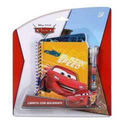 Jouets et kermesse, Bloc-note enfant avec stylo à bille Cars, WA2052275, 2,90€