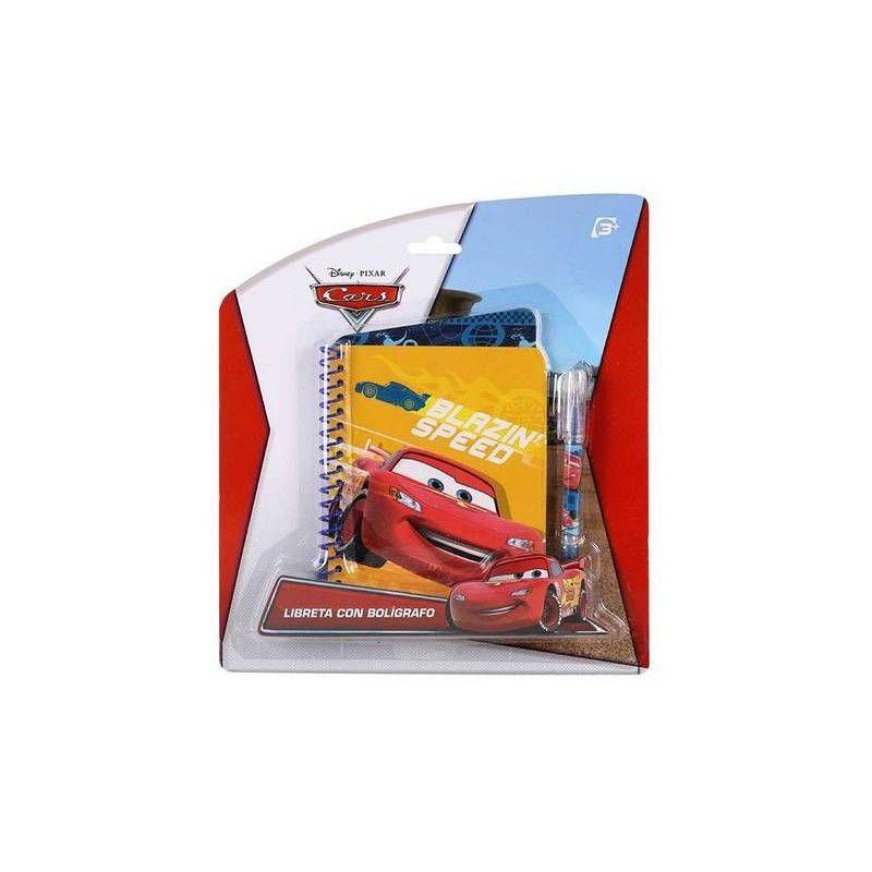 Bloc-note enfant avec stylo à bille Cars Jouets et kermesse WA2052275