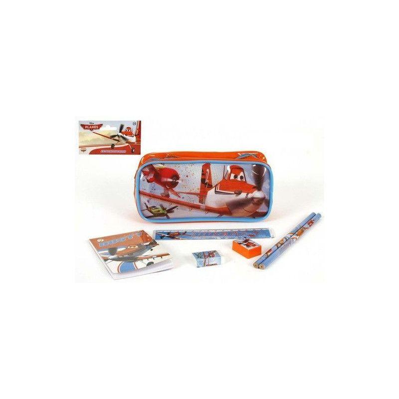 Trousse scolaire avec accessoires Planes Jouets et kermesse WA2052929
