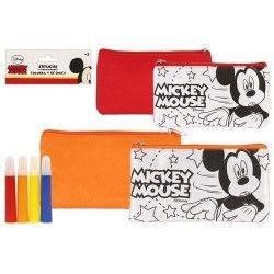 Jouets et kermesse, Trousse scolaire Mickey avec 4 stylos, WA2054638, 4,90€