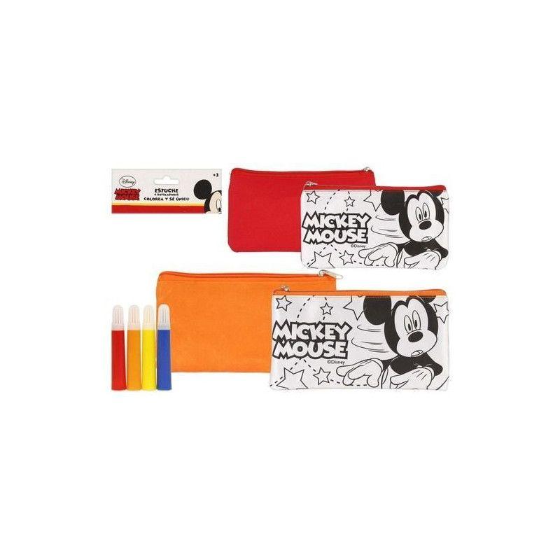 Trousse scolaire Mickey avec 4 stylos Jouets et articles kermesse WA2054638