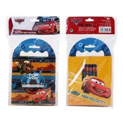 Jouets et kermesse, Set coloriage avec bloc note et crayons couleur Cars, WA2055271, 4,90€