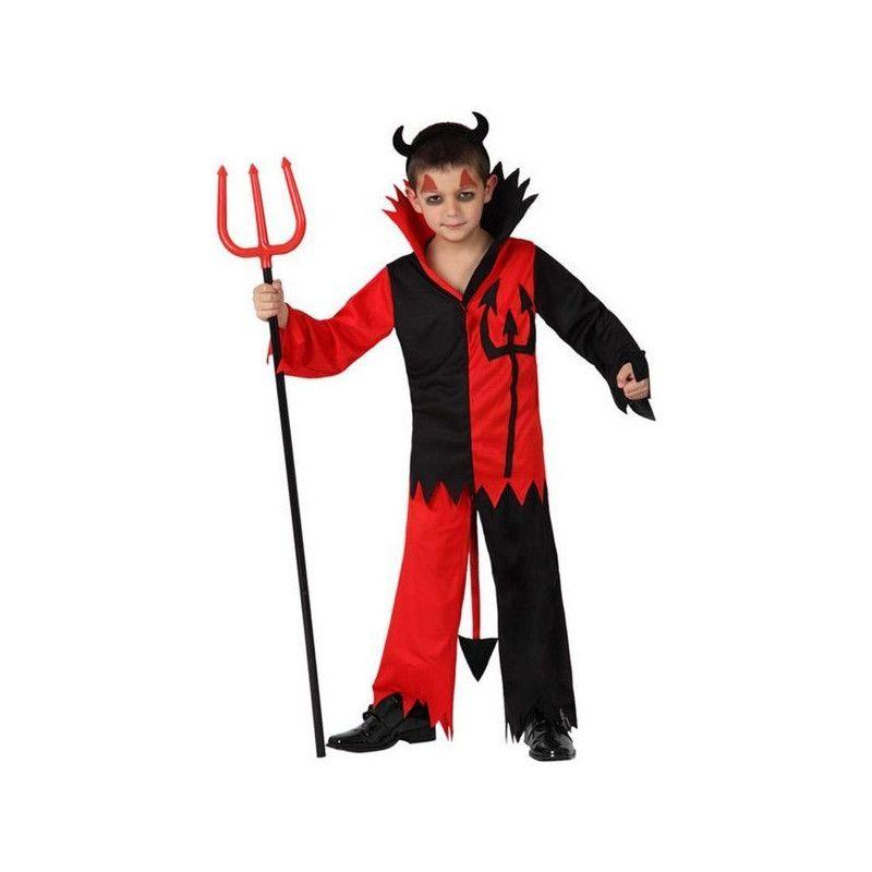 Déguisement diable rouge et noir garçon 10-12 ans Déguisements 14961