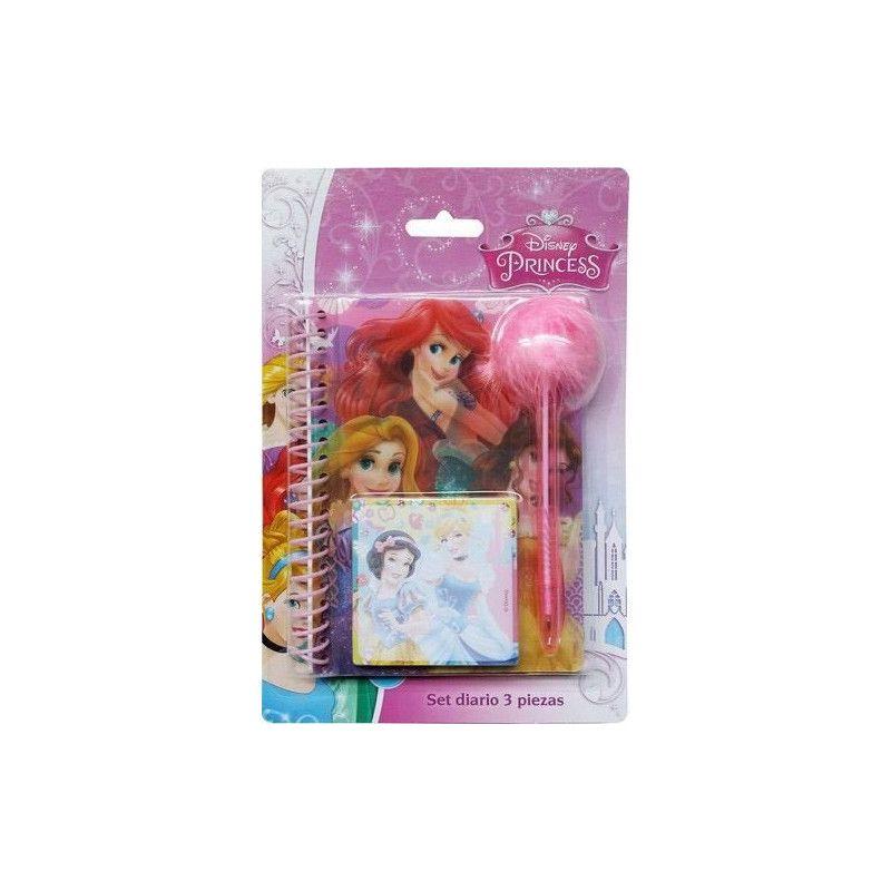 Set carnet de notes 3 pièces Princess Jouets et articles kermesse WA2055280